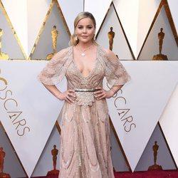 Abbie Cornish en la alfombra roja de los Oscar 2018