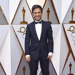 Gael García Bernal en la alfombra roja de los Oscar 2018