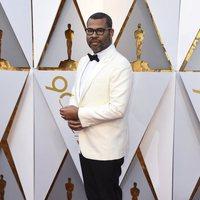 Jordan Peele en la alfombra roja de los Oscar 2018