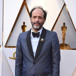 Luca Guadagnino en la alfombra roja de los Oscar 2018