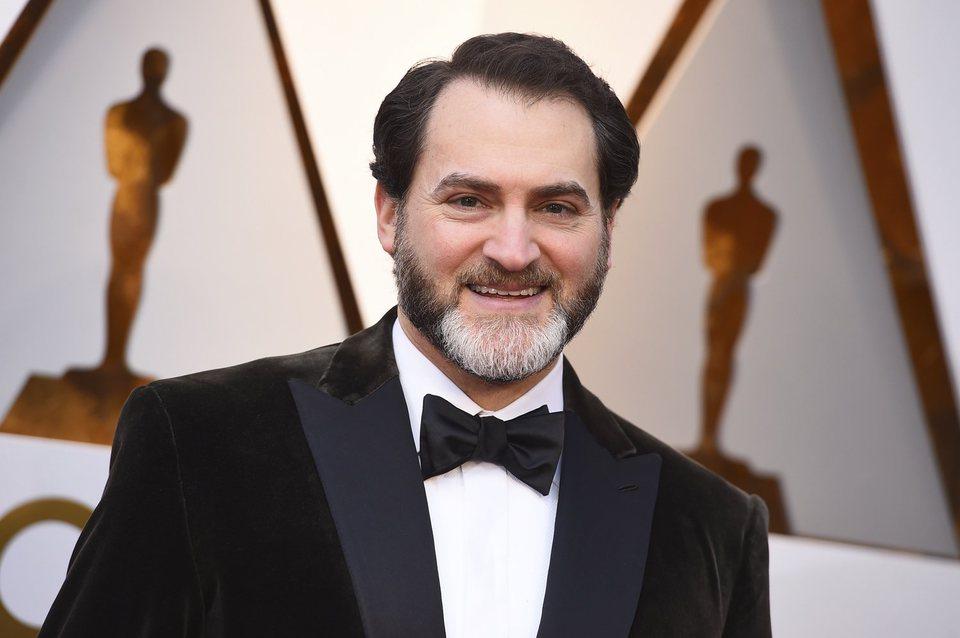 Michael Stuhlbarg en la alfombra roja de los Oscar 2018