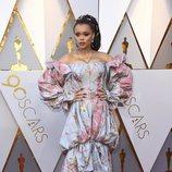 Andra Day en la alfombra roja de los Oscar 2018