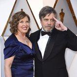 Mark Hamill y Marilou York en la alfombra roja de los Oscar 2018