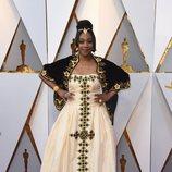 Tiffany Haddish en la alfombra roja de los Oscar