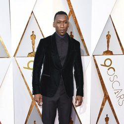 Mahershala Ali en la alfombra roja de los Oscar 2018