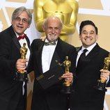 Mark Weingarten, Gregg Landaker y Gary A. Rizzo, Oscar a Mejor mezcla de sonido por 'Dunkerque'