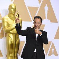 Alexandre Desplat, ganador del Oscar a la Mejor banda sonora original por 'La forma del agua'
