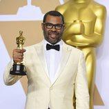 Jordan Peele, ganador del Oscar al Mejor guion original por 'Déjame salir'