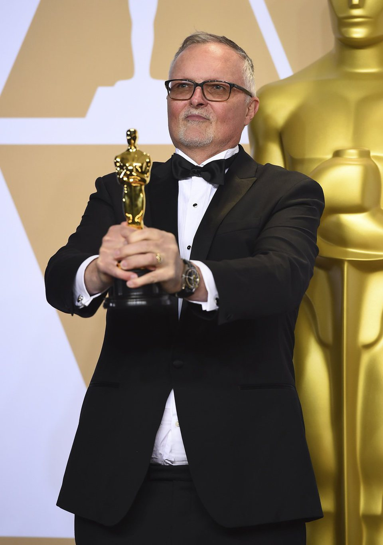 Lee Smith, ganador del Oscar al Mejor montaje por 'Dunkerque'