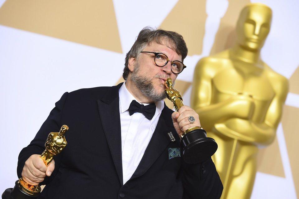 Guillermo del Toro, Oscar a Mejor película y Mejor dirección por 'La forma del agua'