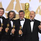 Richard R. Hoover, Paul Lambert, Gerd Nefzer y John Nelson, ganadores del Oscar a los Mejores efectos especiales por 'Blade Runner 2049'