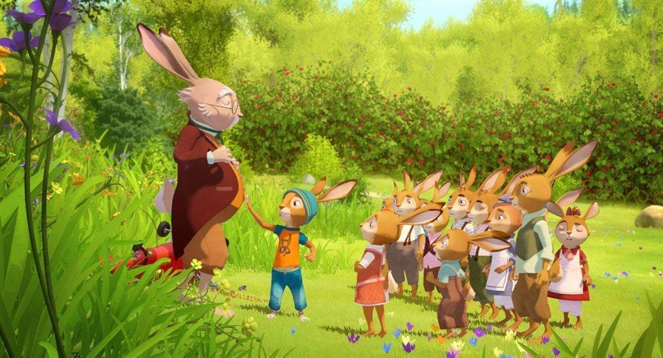 Rabbit School: Los guardianes del huevo de oro, fotograma 2 de 7