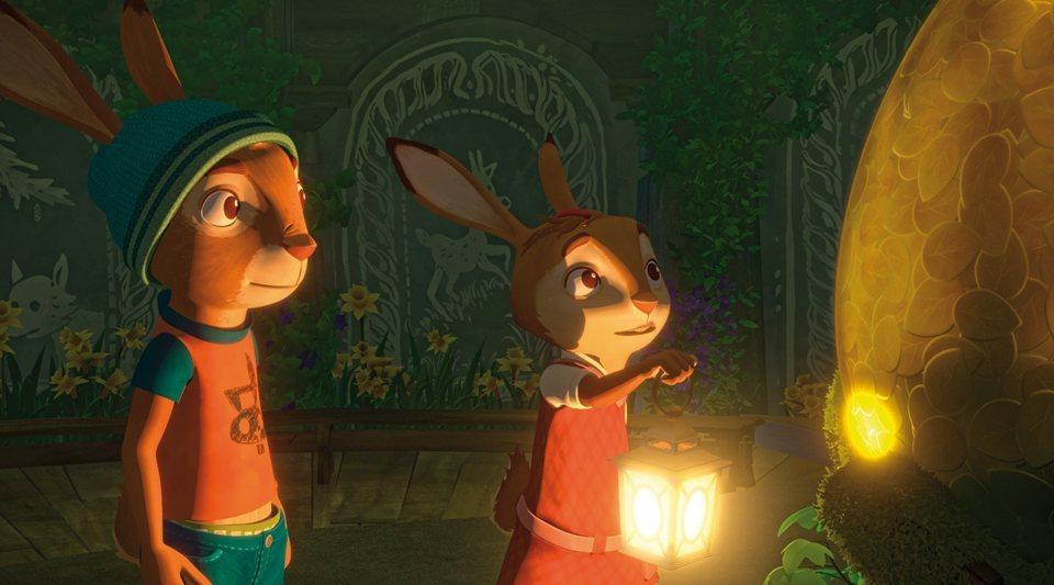 Rabbit School: Los guardianes del huevo de oro, fotograma 1 de 7