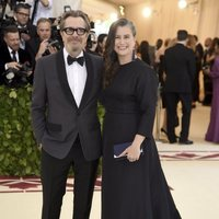 Gary Oldman and his wife at the Met Gala 2018