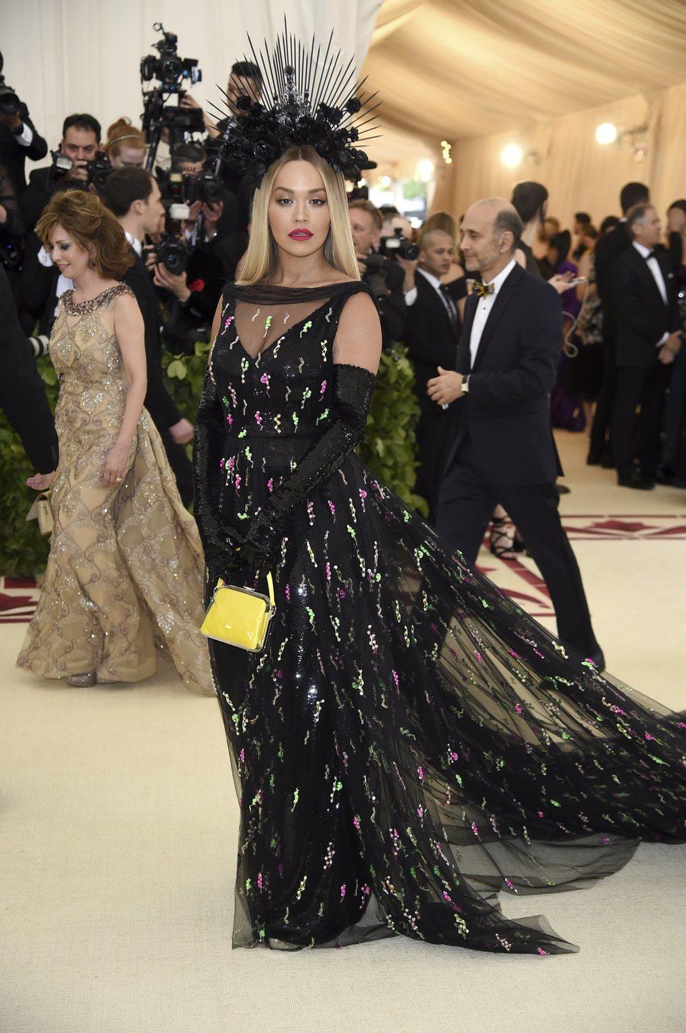 Rita Ora at the Met Gala 2018