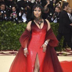 Nicki Minaj en la Gala Met 2018