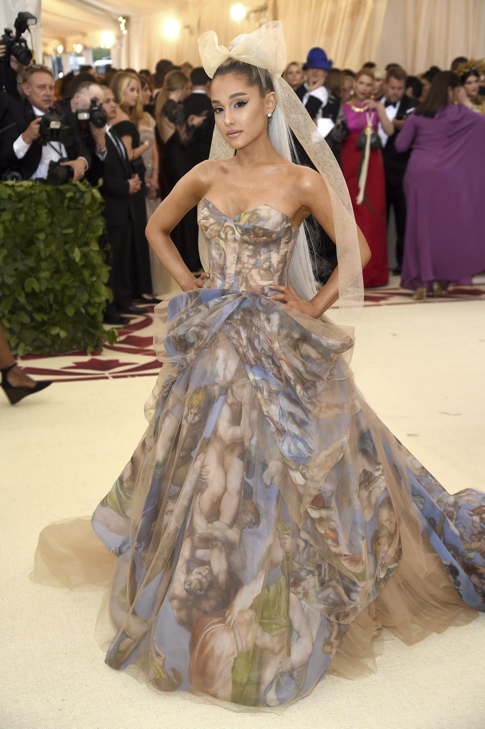 Ariana Grande en la Gala Met 2018