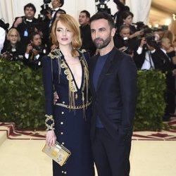 Emma Stone en la Gala Met 2018