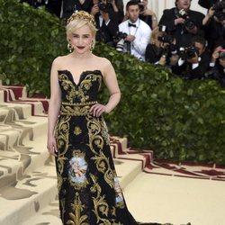 Emilia Clarke en la Gala Met 2018