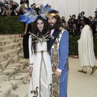 Jared Leto and Lana del Rey at the Met Gala 2018