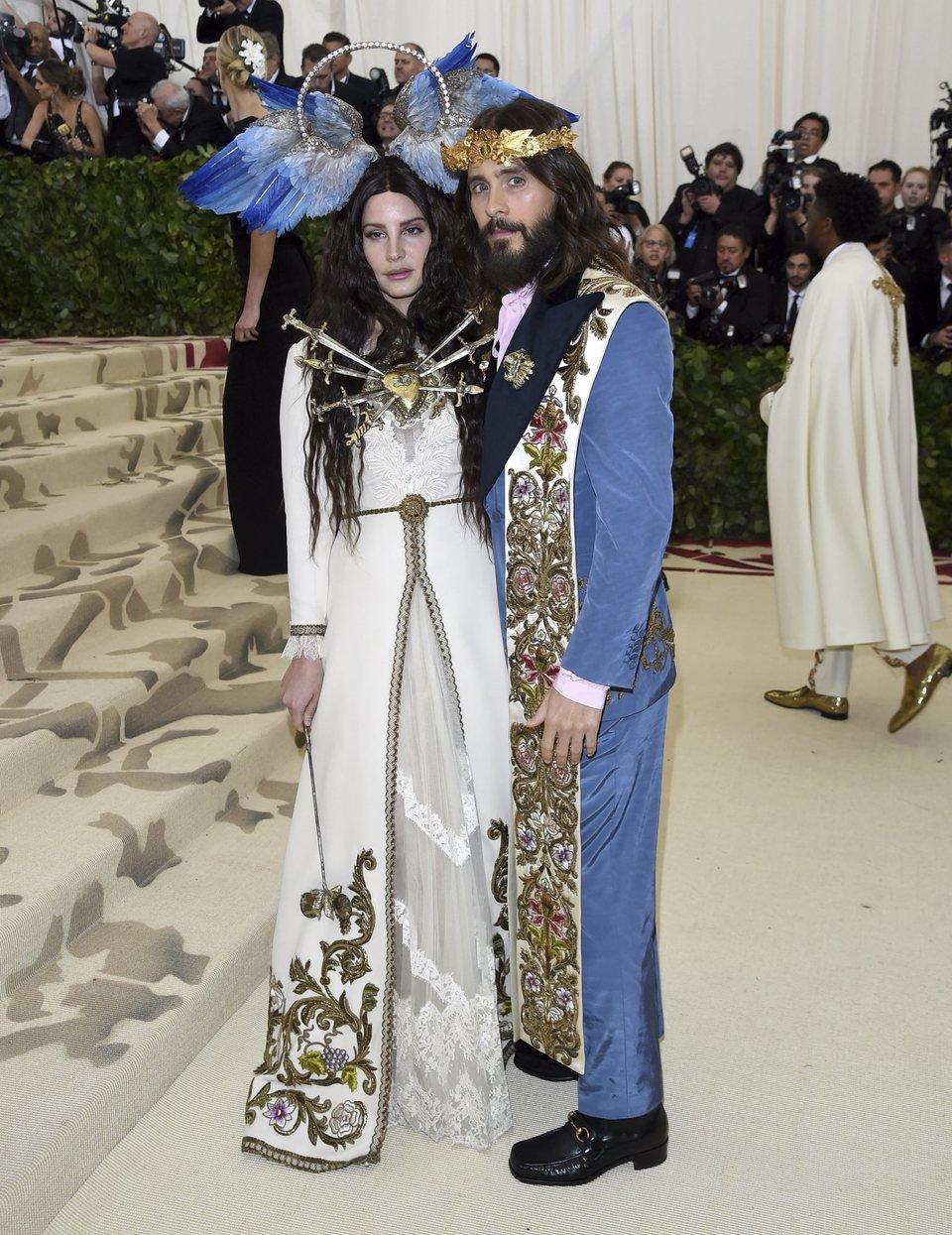 Jared Leto y Lana del Rey en la Gala Met 2018