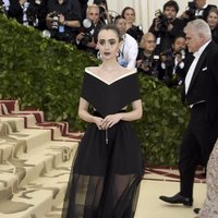 Lily Collins at the Met Gala 2018