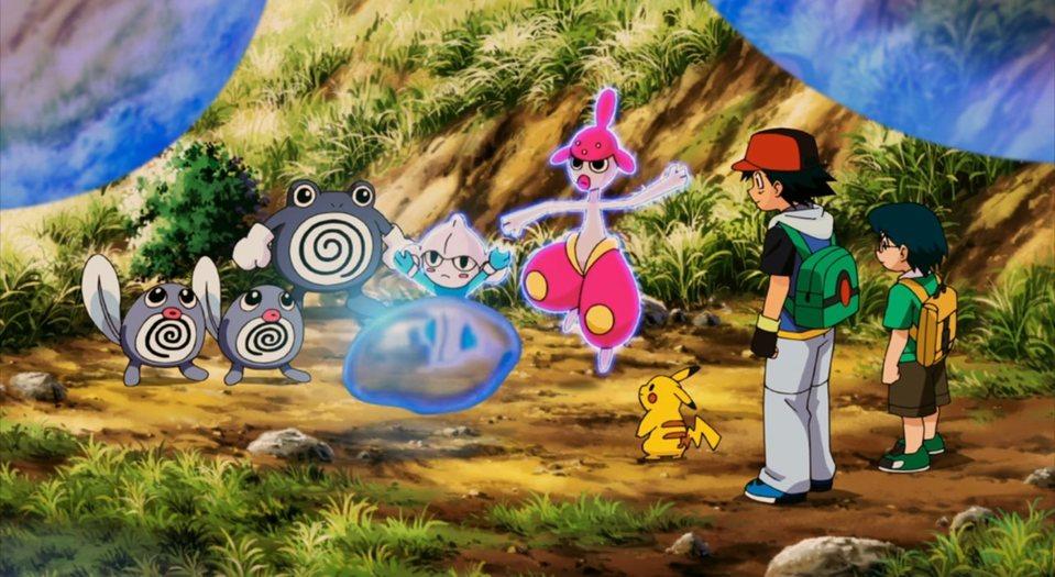 Pokémon 9: Pokémon Ranger y el templo del mar, fotograma 14 de 20
