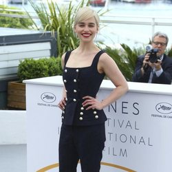 La actriz Emilia Clarke asiste a la premiere de 'Han Solo: Una historia de Star Wars' durante el Festival de Cannes
