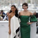 Thandie Newton y Phoebe Waller-Bridge asisten a la premiere de 'Han Solo: Una historia de Star Wars' durante el Festival de Cannes