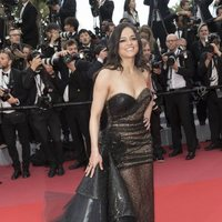 Michelle Rodriguez attends the premiere of 'Solo: A Star Wars Story' during the 71st Cannes Film Festival
