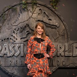 Bryce Dallas-Howard en la premiere mundial de 'Jurassic World: El reino caído' en Madrid