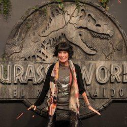 Geraldine Chaplin en la premiere mundial de 'Jurassic World: El reino caído' en Madrid