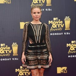 Kristen Bell en la alfombra roja de los MTV Movie & TV Awards 2018