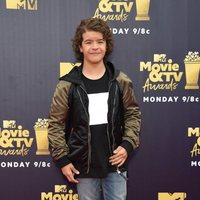 Gaten Matarazzo en la alfombra roja de los MTV Movie & TV Awards 2018