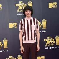 Finn Wolfhard en la alfombra roja de los MTV Movie & TV Awards 2018