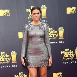 Mandy Moore en la alfombra roja de los MTV Movie & TV Awards 2018