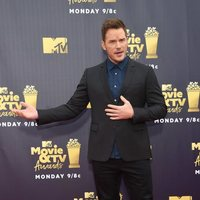 Chris Pratt en la alfombra roja de los MTV Movie & TV Awards 2018