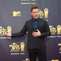 Chris Pratt en la alfombra roja de los MTV Movie & TV Awards 2018