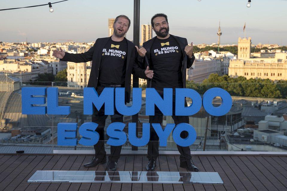 Alberto López y Alfonso Sánchez presentan 'El mundo es suyo' en Madrid