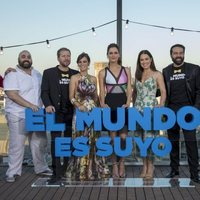 Premiere de 'El mundo es suyo' en Madrid