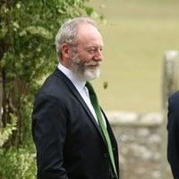 Liam Cunningham llega a la boda de Kit Harington y Rose Leslie