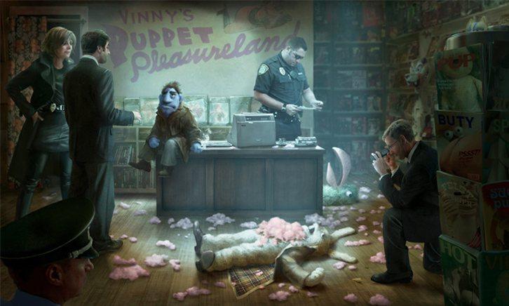 ¿Quién está matando a los moñecos?, fotograma 1 de 14