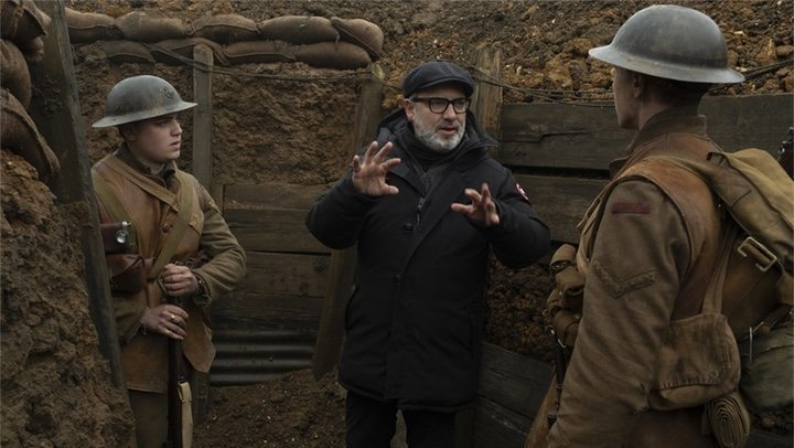 Sam Mendes discusses the filming process behind '1917'