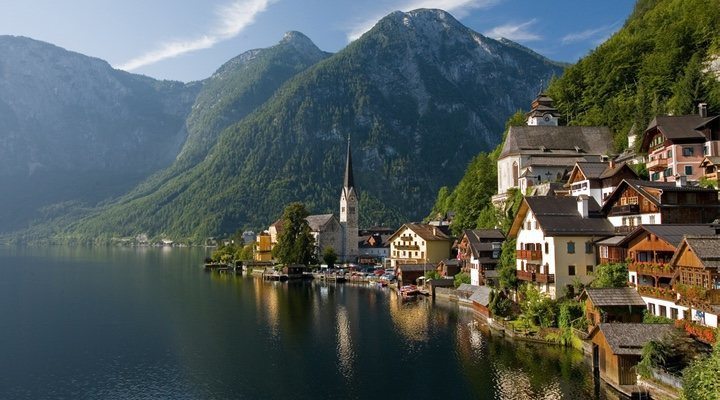 The Austrian village of Halstatt, one of the main inspirations behind Arendelle in the 'Frozen' saga, is overwhelmed by tourists every day