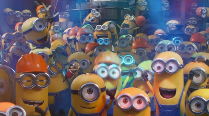 'Minions: The Rise of Gru' was one of the many films to drop trailers at the 2020 Super Bowl