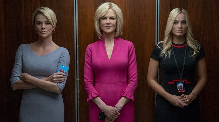 'Bombshell', starring Nicole Kidman, Margot Robbie and Charlize Theron, tells the story of the fall of Fox news head Roger Ailes