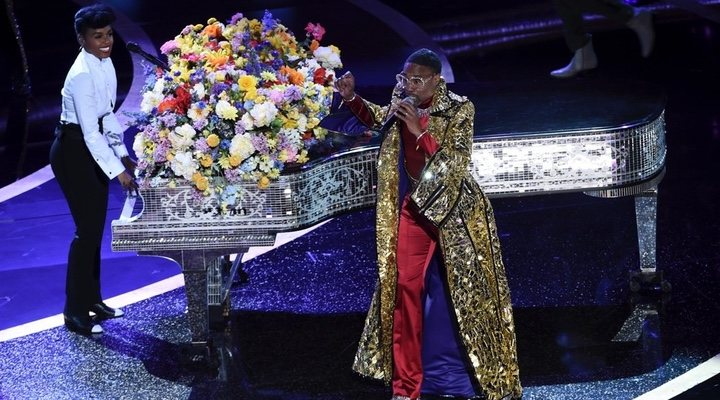Janelle Monáe and Billy Porter delivered a spirited opening performance at the 2020 Oscars