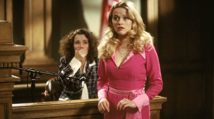 Elle Woods of 'Legally Blonde' symbolises finding power within one's own identity