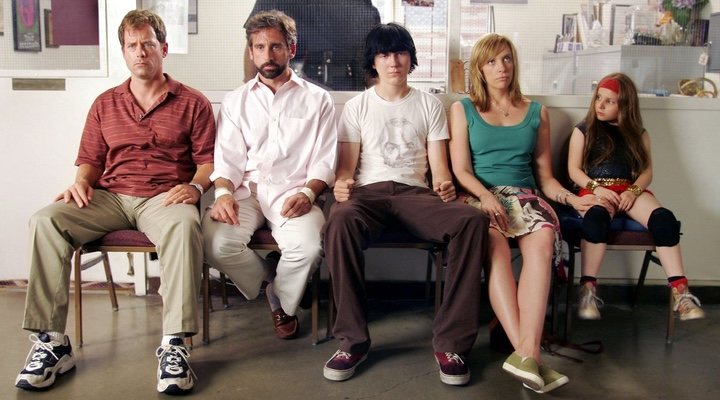 Two sets of siblings form a considerable chunk of the Hoover family in 'Little Miss Sunshine'