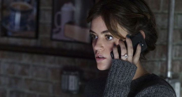 Lucy Hale in PLL